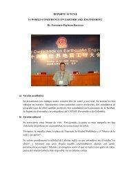 Reporte de Actividades del Dr. Fortunato Espinoza Barreras