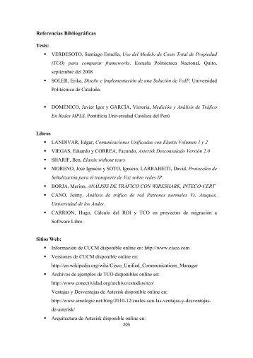 Referencias Bibliográficas Tesis: VERDESOTO, Santiago Estrella ...
