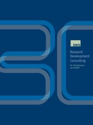 Research Development Consulting - IGES Institut GmbH