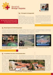 Nuestra carta informativa quince - Diospi Suyana