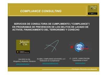COMPLIANCE CONSULTING - Salcedo y Cía.