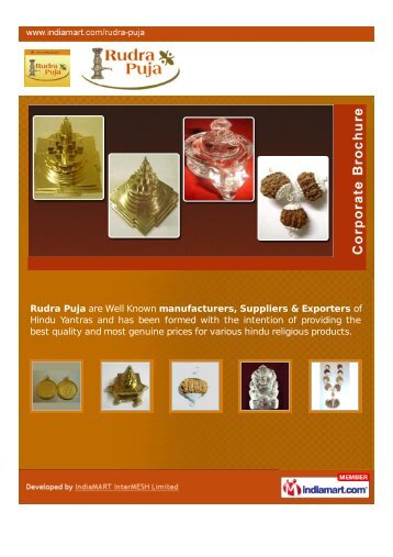 Rudra Puja, Ahmedabad - Supplier of Locket Yantras ... - IndiaMART