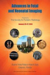 Advances in Fetal and Neonatal Imaging - McGill Publications
