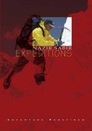 nse_brochure final.pdf - Nazir Sabir Expeditions
