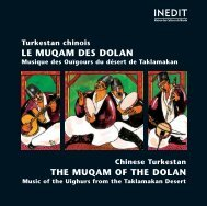 Turkestan chinois, LE MUQAM DES DOLAN - Document sans titre ...