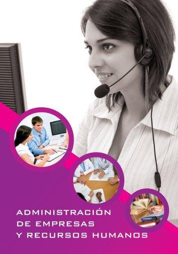 Administración de Empresas y Recursos Humanos