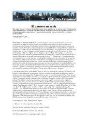 Juan Tenorio El amante en serie - Estudio Criminal
