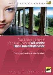 Download Willroider Fensterprospekt