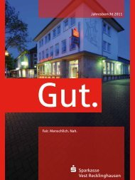 Jahresbericht 2011 Fair. Menschlich. Nah. - Sparkasse Vest ...