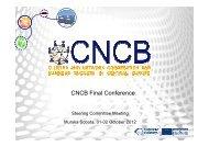 CNCB Final Conference - Salone della ricerca innovazione e ...
