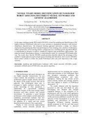 neural nnarx model identification of pam-based robot