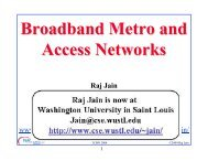 Tutorial on Broadband Metro and Access Networks