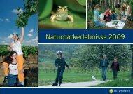 Naturparkerlebnisse 2009