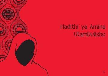Hadithi ya Amina Utambulisho - Raising Voices