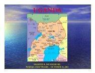 Uganda - Minnesota Dept. of Health - Minnesota Department of Health