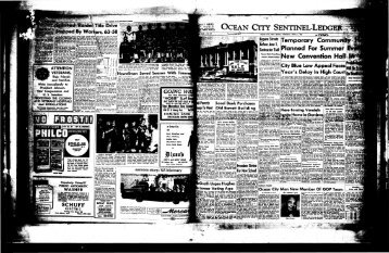 OCEAN CITY SENTINEEJ - On-Line Newspaper Archives of Ocean ...