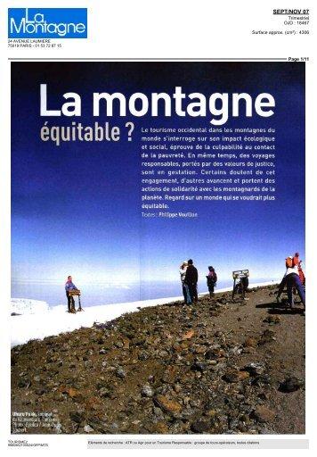 Montagne et Alpinisme 09 07 - ATR