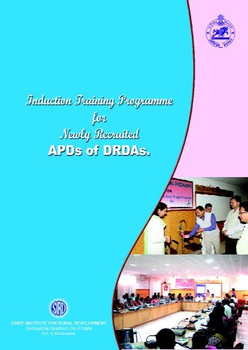 Induction Trg. (APD) - State Institute for Rural Development