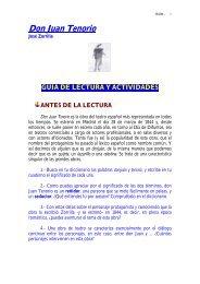 Fragmentos Antologia De Don Juan Tenorio Y Rimas Pdf