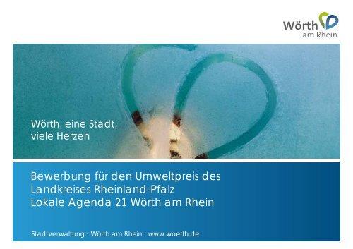 Bewerbung für den Umweltpreis des Landkreises Rheinland-Pfalz ...