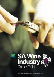 Wine Industry Career Guide - FTH Skills Council