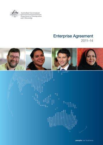 DIAC enterprise agreement 2011-14 - Department of Immigration ...