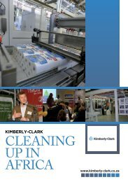 CLEANING UP IN AFRICA - Kimberly-Clark South Africa