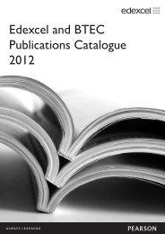 Full Publications Catalogue - Edexcel