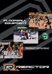 Get to know FLOORBALL! - Reactor floorball