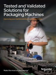 Tested and Validated Solutions for Packaging Machines