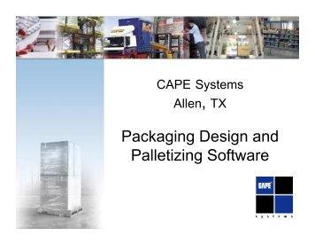 Packaging Design and Palletizing Software - Esko