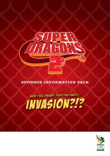 SuperDragons 2 sponsorship pack - Newport City Council