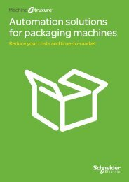 Automation solutions for packaging machines - Schneider Electric