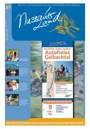 Mitteilungsblatt Ausgabe 27 - 2011 - Verbandsgemeinde Nassau