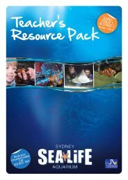 Teacher's Resource Pack - Sydney Aquarium