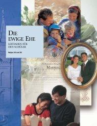 DIE EWIGE EHE – LEITFADEN FÜR DEN SCHÜLER - Kirche Jesu ...