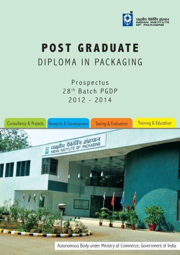 POST GRADUATE - Indian Institute of Packaging