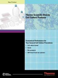 Thermo Scientific BioLite Cell Culture Products - Fisher Scientific