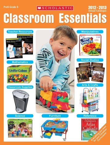 Arts & Crafts Teacher Resources Pre K-Grade 8 Science Furniture ...