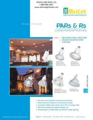 PAR & R CFL's - Atlanta Light Bulbs