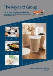 food packaging solutions - The Reynard Group