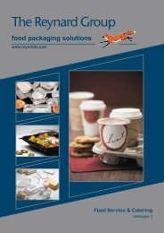Food Service & Catering - The Reynard Group