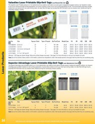 Download the Laser Products section of our catalog - United Label