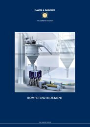Broschüre Zement (pdf, 2.2 MB) - Maschinenfabrik