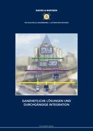 Elektrotechnik und Automation - Maschinenfabrik