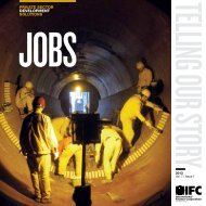 Telling Our Story: Jobs - IFC