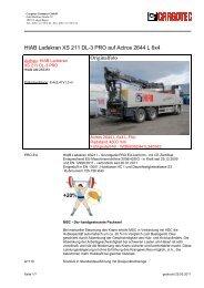 HIAB Ladekran XS 211 DL-3 PRO auf Actros 2644 L 6x4 Originalfoto