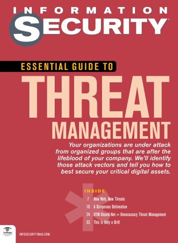 Essential Guide to Threat Management - Bitpipe