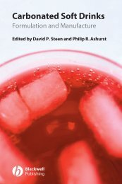 Carbonated Soft Drinks : Formulation and Manufacture