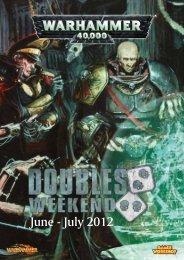 June - July 2012 - Games Workshop